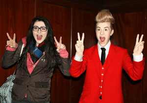 Jedward in the Wax Museum